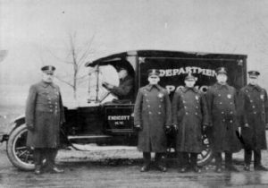 endicott police car 1920s 300x210 - About